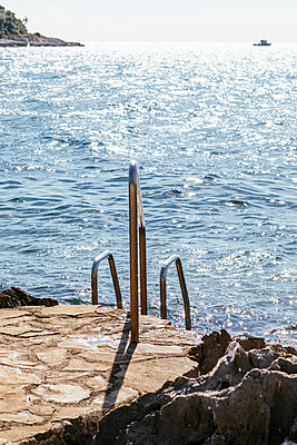 Swim ladder - p728m2027217 by Peter Nitsch