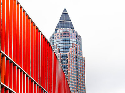 Germany, Frankfurt, Exhibition tower - p300m998328f by Martin Moxter