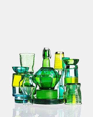 Vintage Glass - p1323m1158818 by Sarah Toure