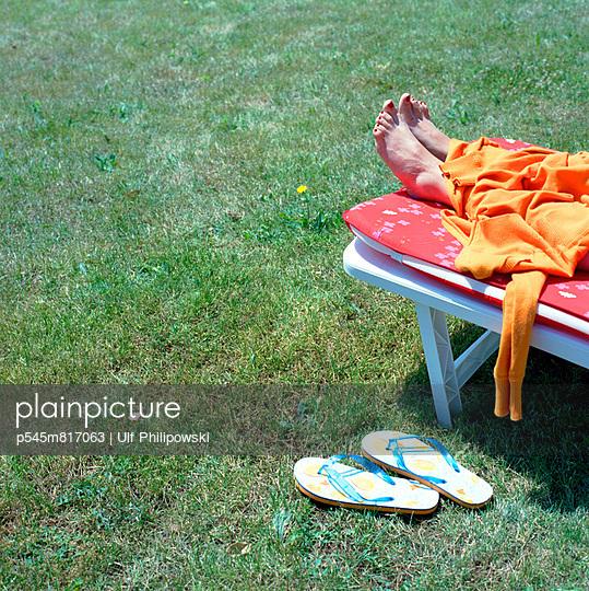 Sonnenbad - p545m817063 von Ulf Philipowski