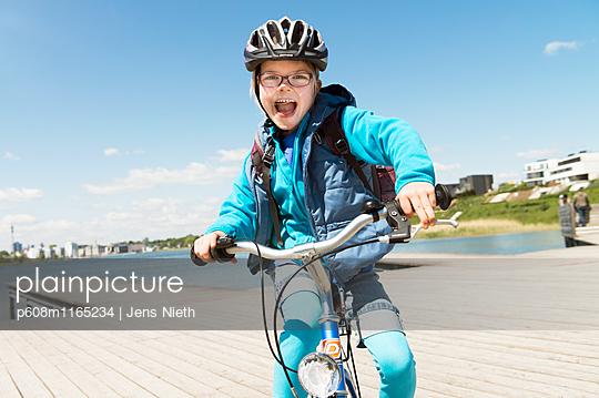 Radfahren - p608m1165234 von Jens Nieth