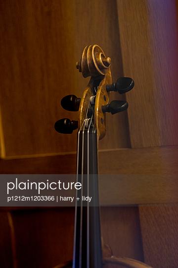 Hals einer Geige - p1212m1203366 von harry + lidy