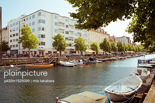 Kanal in Christianshavn - p432m1525099 von mia takahara