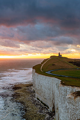 Belle Tout lighthouse, Beachy Head, Eastbourne, East Sussex, England, UK - p651m2152288 by Andrea Comi