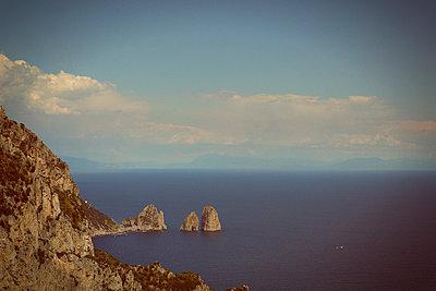 The rocks 'Faraglioni' at Capri - p294m944507 by Paolo