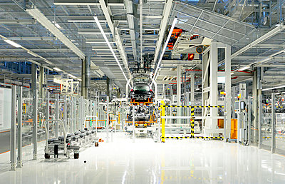 Production of VW cars in a factory - p300m2219433 by lyzs