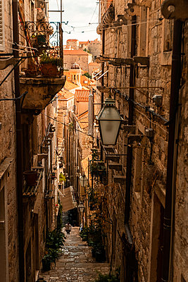 Alley in old town - p623m2151746 by Pablo Camacho