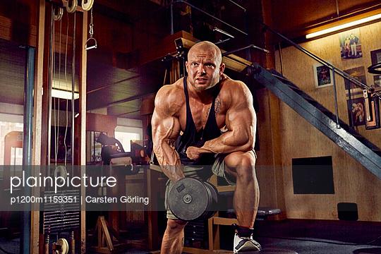 Bodybuilding - p1200m1159351 von Carsten Görling