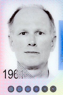 Passport photo of man - p265m1424804 by Oote Boe