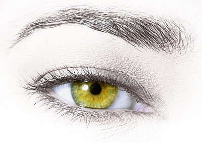 Woman's green eye - p62317049f by I. Rozenbaum & G. Paille
