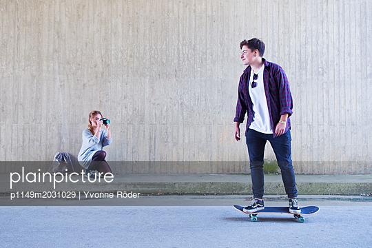 Skaten - p1149m2031029 von Yvonne Röder