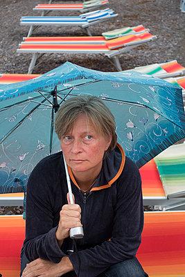 Regenwetter im Urlaub - p1079m1552886 von Ulrich Mertens