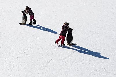 Eislaufen - p1222m1154628 von Jérome Gerull