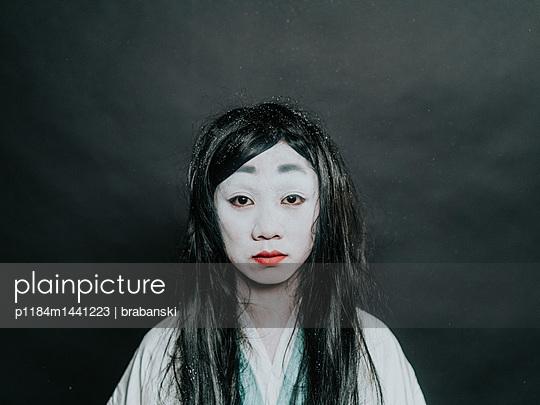 Portrait of Asian woman - p1184m1441223 by brabanski