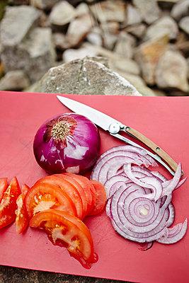 Outdoor-Küche - p1145m1558742 von Kerstin Lakeberg