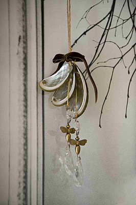 hand made Christmas decoration - p349m790791 by Polly Eltes
