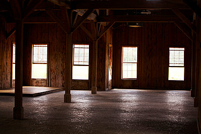 Wood Building Interior - p694m663734 by Maria K