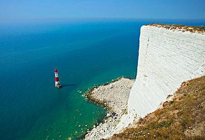 Beachy Head Lighthouse - p6510812 by Alan Copson