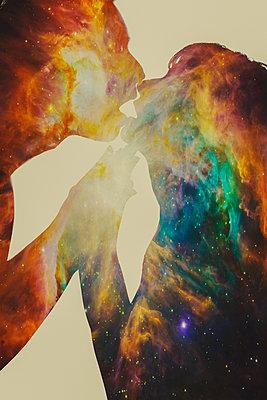 Leidenschaftlicher Kuss - p1165m973374 von Pierro Luca