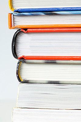 Buchstapel - p4010323 von Frank Baquet