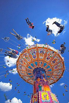 Oktoberfest carousel Merry go round Munich Germany - p609m765467 by WRIGHT