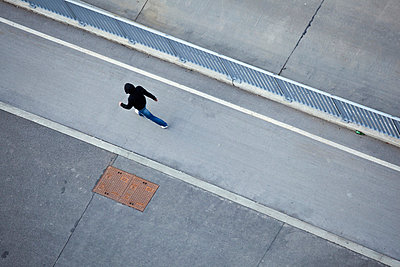 Running away - p8420155 by Renée Del Missier
