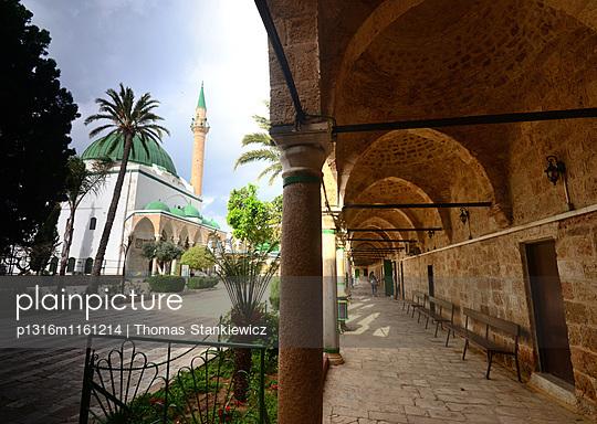 El-Jazzar Moschee, Akko, Nord-Israel, Israel - p1316m1161214 von Thomas Stankiewicz