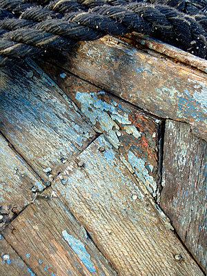 Holzboot - p9790912 von Rettschlag