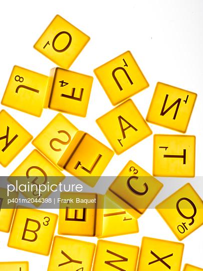 Scrabble Keksformen - p401m2044398 von Frank Baquet