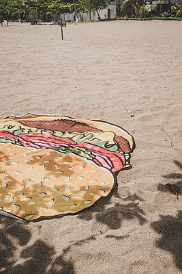 Burger Badetuch - p1345m2055604 von Alexandra Kern