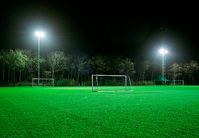 Football field - p1132m1016961 by Mischa Keijser