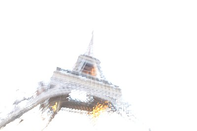 Eiffel tower - p1172m955419 by Frank Tusch