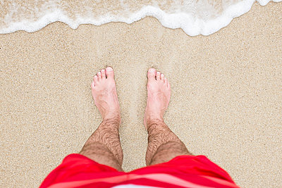 Am Strand - p890m989892 von Mielek