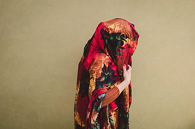 Veiled woman - p1150m2157871 by Elise Ortiou Campion