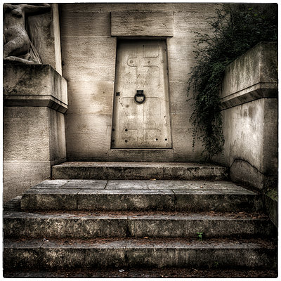 Angled Door Number 1 - p1154m1074344 by Tom Hogan