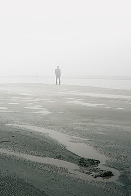 Man by the misty river  - p794m1034121 by Mohamad Itani