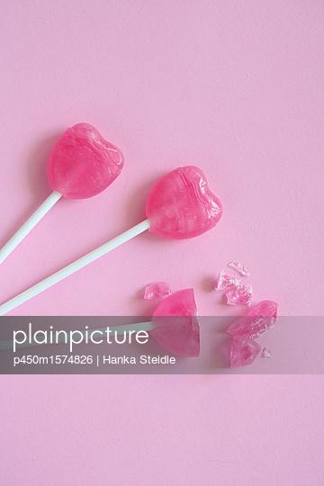 Lutscher in Pink     - p450m1574826 von Hanka Steidle