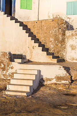 Stone steps - p1177m1467465 by Philip Frowein