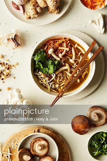 Asian dish - p1640m2261108 by Holly & John