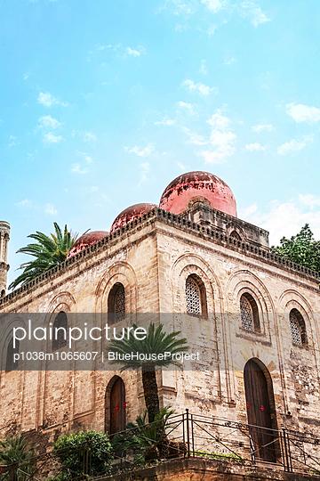 Admiralskirche, Santa Maria dell'Ammiraglio, Palermo - p1038m1065607 von BlueHouseProject