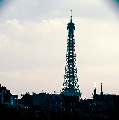 Eiffel Tower - p1654m2253685 by Alexis Bastin
