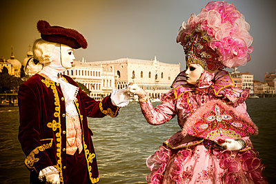 Venice Carnival - p1062m1039668 by Viviana Falcomer