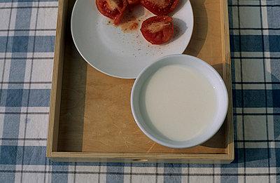 Tomaten mit Milch - p1160158 von Gianna Schade