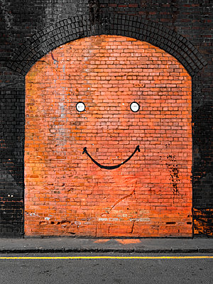 Mauer Street Art - p1280m1439931 von Dave Wall