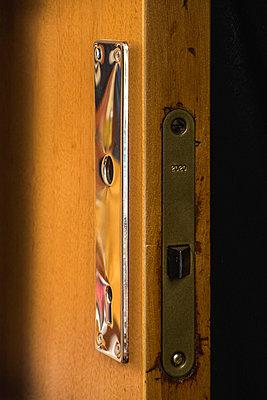 Door without a handle - p1418m1572219 by Jan Håkan Dahlström