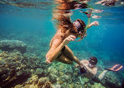 Snorkeling in Indian ocean - p1108m1104693 by trubavin