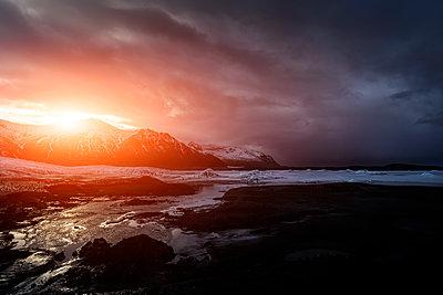 Skeiðarárjökull Glacier, Skeidararjokull Glacier, Ice Lake - p1280m1195780 by Dave Wall
