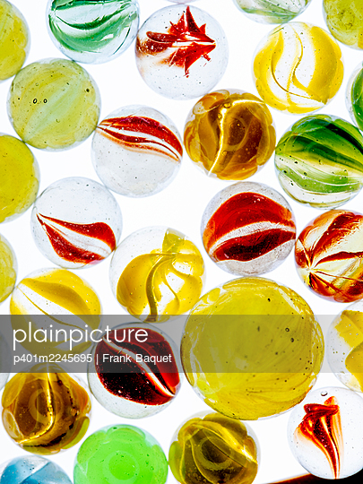 Glass marbles - p401m2245695 by Frank Baquet