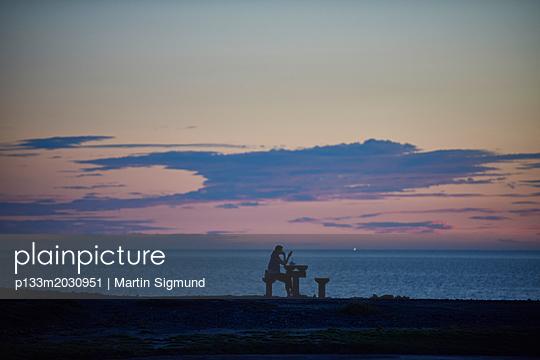 Entspannung am Meer - p133m2030951 von Martin Sigmund