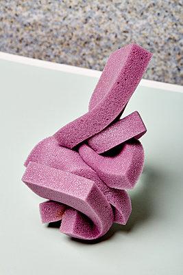 Lilac solid foam - p1673m2260783 by Jesse Untracht-Oakner